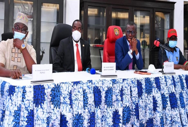 Sanwo-Olu Meets Heads Of Parastatal, Tasks Them On Delivering Dividends Of Democracy