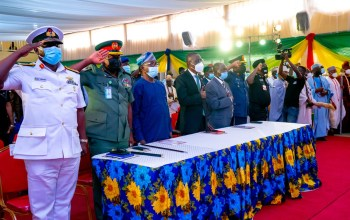 Lagos Governor With Security Council - TDPel News