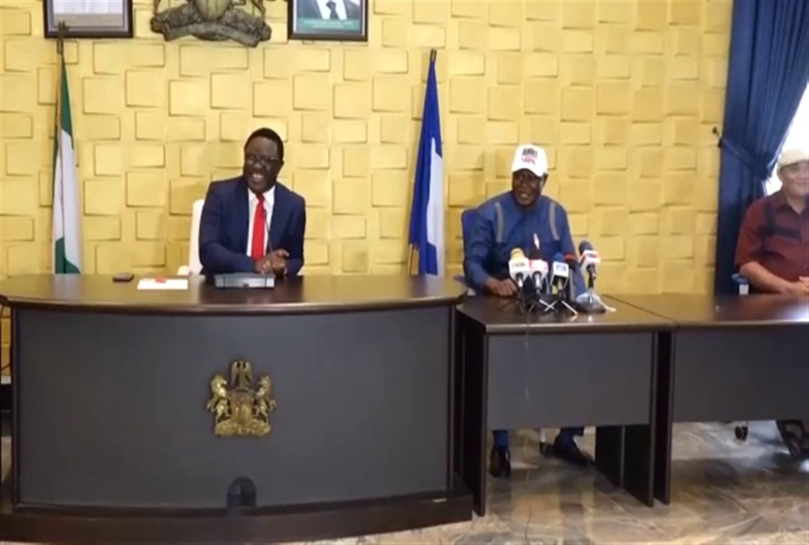 Governor Ben Ayade Meets APC Leadership in Cross River After Formal Defection