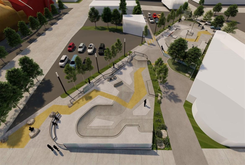 New Seattle Center Skate Plaza Offers Outstanding, Multi-level Skateboarding Experience