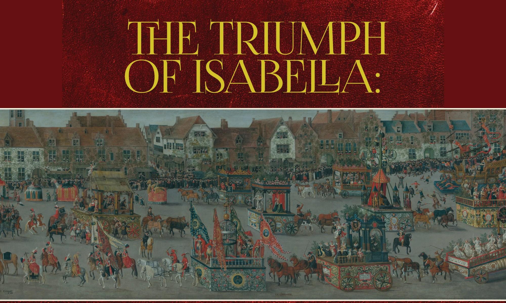 """The Triumph of Isabella"""" – IPCCR"""