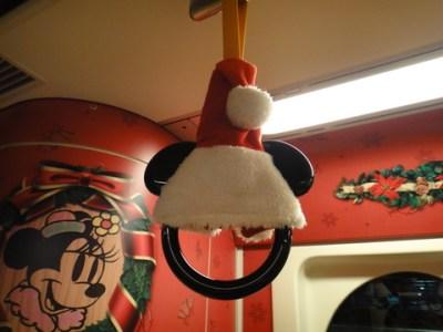 リゾートライン クリスマス 吊革