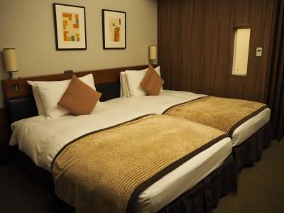 東京ベイ舞浜ホテル 客室 ベッド