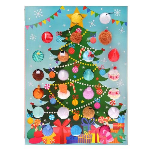 ツムツム クリスマス アドベントカレンダー 裏面