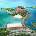 ハイアットリージェンシー瀬良垣アイランド沖縄 ホテル俯瞰