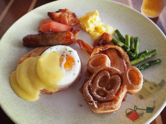 DCL カバナス 朝食
