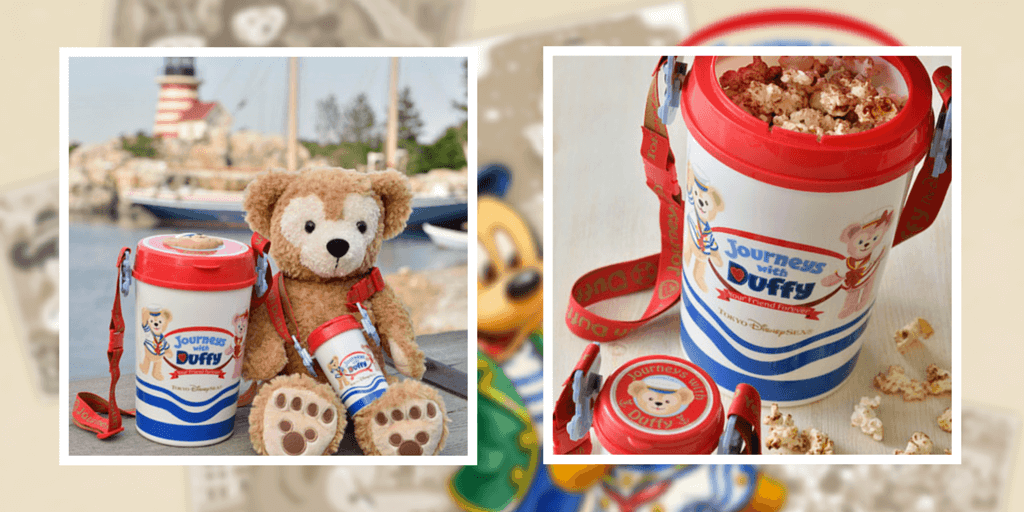 """Limited Menu for Duffy's 10th Anniversary """"Journeys With Duffy Your Friend Forever"""""""