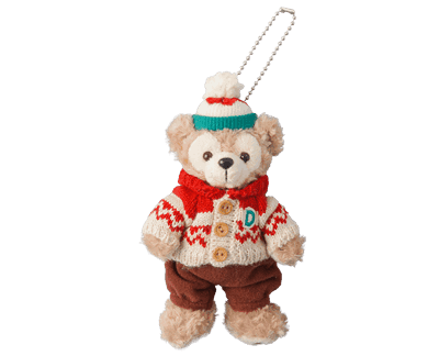 Duffy, Shellie May and Gelatoni Stuffed Badges ¥2,000 each