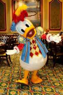 Donald Duck Royal Banquet Hall Shanghai Disneyland Tdr