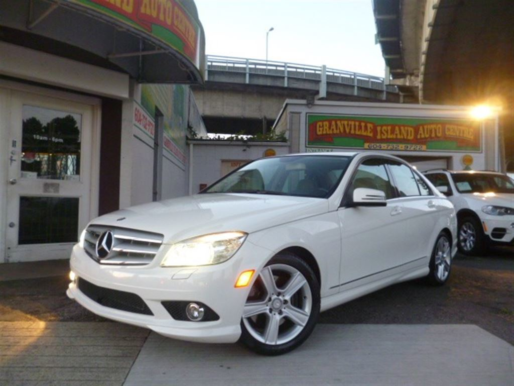 hight resolution of 2010 mercedes benz c class c300 4matic almond mocha interior vancouver