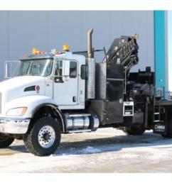 2014 kenworth t370 4x4 hiab 211ep 5 knuckle truck nisku 184 900 [ 1024 x 768 Pixel ]