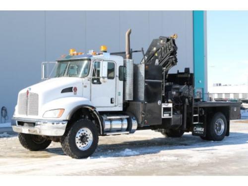 small resolution of 2014 kenworth t370 4x4 hiab 211ep 5 knuckle truck nisku 184 900