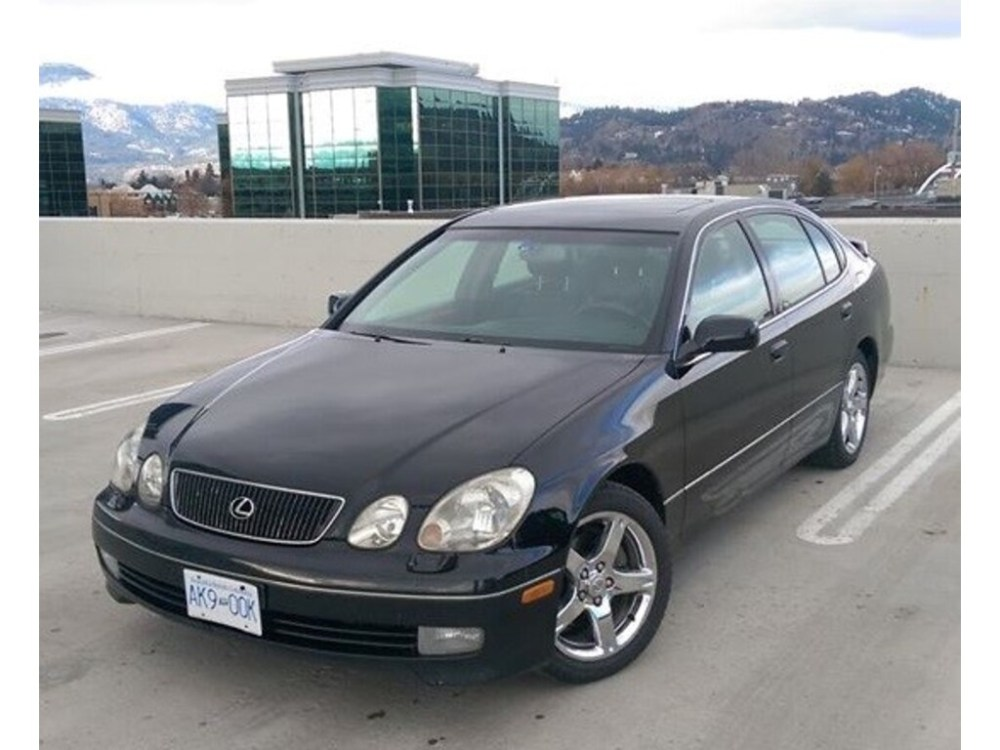 medium resolution of 1998 lexus gs 400 black kelowna 3 999