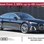 2020 Audi A5 Sportback In North Vancouver Bc Capilano Audi Wauencf57la004585