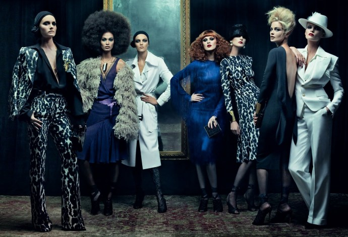 Mr. Ford Returns by Steven Meisel (Vogue US December 2010)
