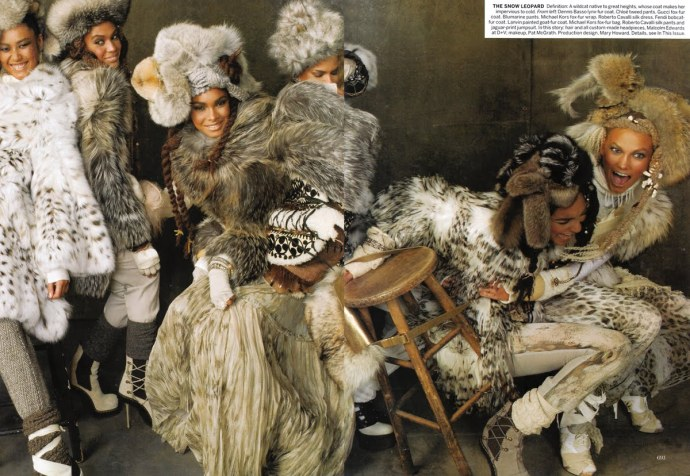 Vogue America September 2010 Steven Meisel3