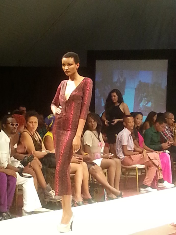 Michelle Ouma from Kenya at SFW2013