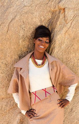 Photographer: Joseph Hunwick Stylist: Lara Ubago Model: Gertrude