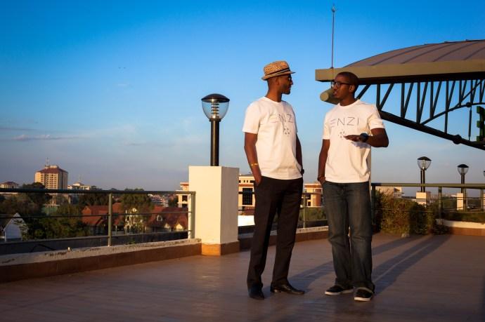 ENZI T-shirts, Dawit & Sam
