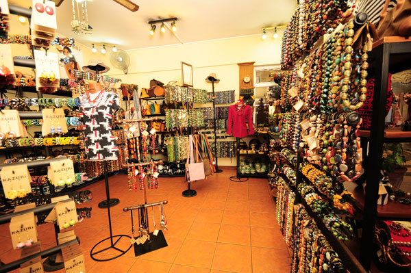 Kazuri Beads Shop in Village Market, Gigiri