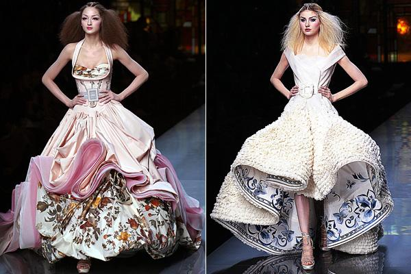 John Galliano for Christian Dior - spring/summer 2009 haute couture collection show in Paris.