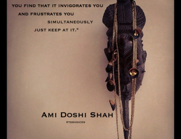 """""""The Devil is in the Detail"""" Ami Doshi Shah's Jewellery Exploration. The Designers Studio Kenya"""