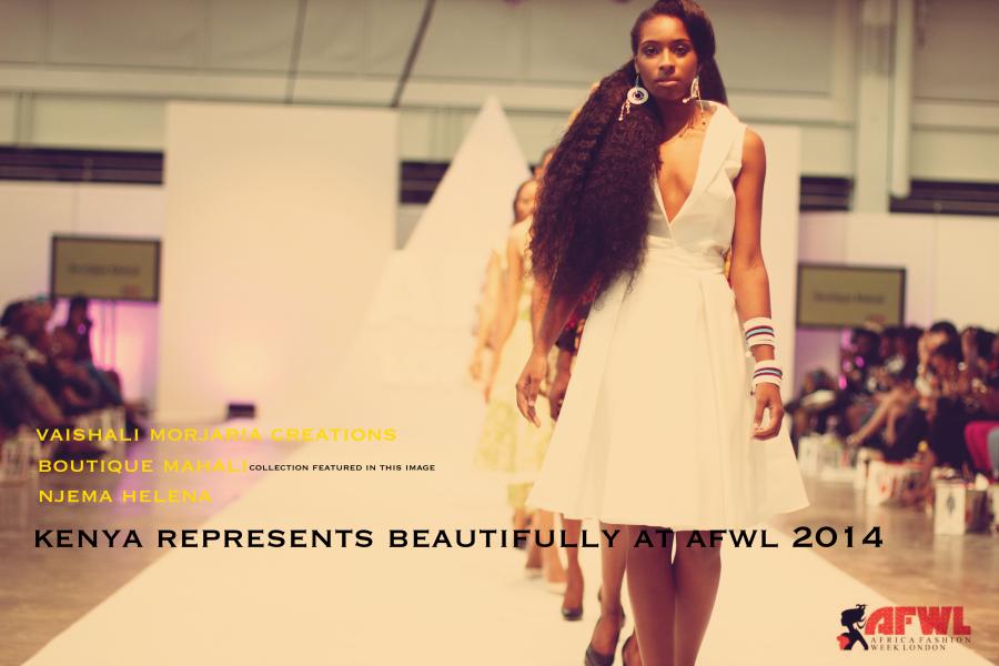 Kenya represented beautifully at AFWL 2014