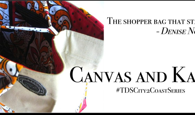 The Shopper Bag that started it all – Canvas & Kangas *Images courtesy and copyrighted to ©CanvasandKangas