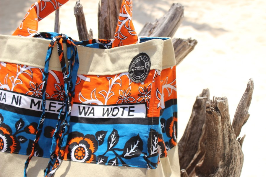 Canvas and Kangas - Shopper Beachbag  #TDSCity2CoastSeries The Designers Studio ©CanvasandKangas