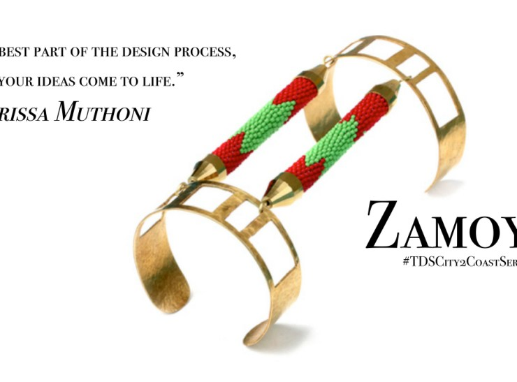 Design and Metamorphosis: Larissa Muthoni tells her story and her brand Zamoyo [Part I] #TDSCity2CoastSeries
