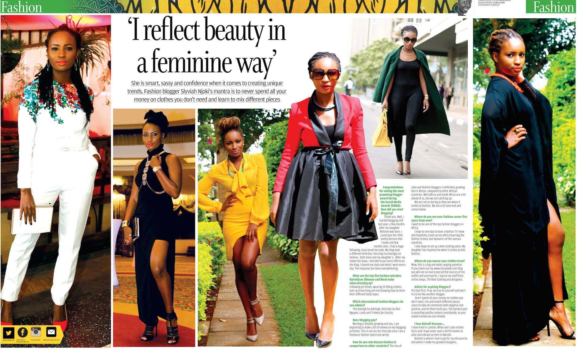The Detail Is In The Clothes Connie Aluoch On Her Journey In Becoming The Most Respected Fashion Stylist In Kenya