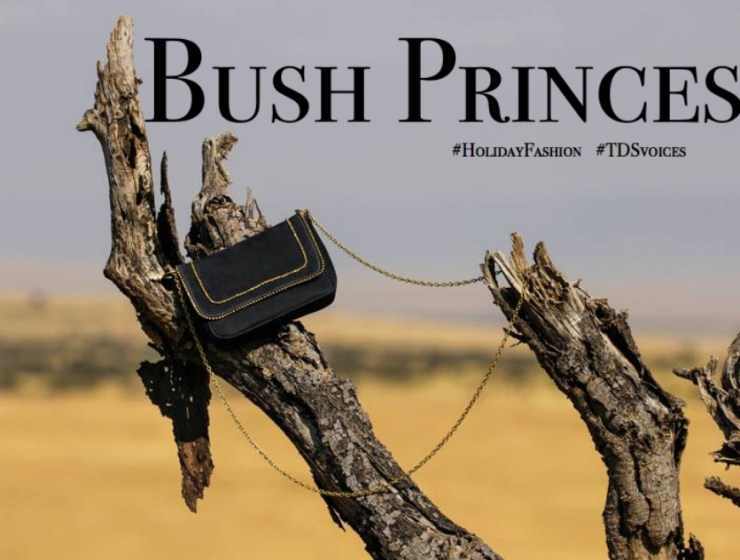 Bush Princess: a fusion of elegance and culture #HolidayFashion #TDSvoices