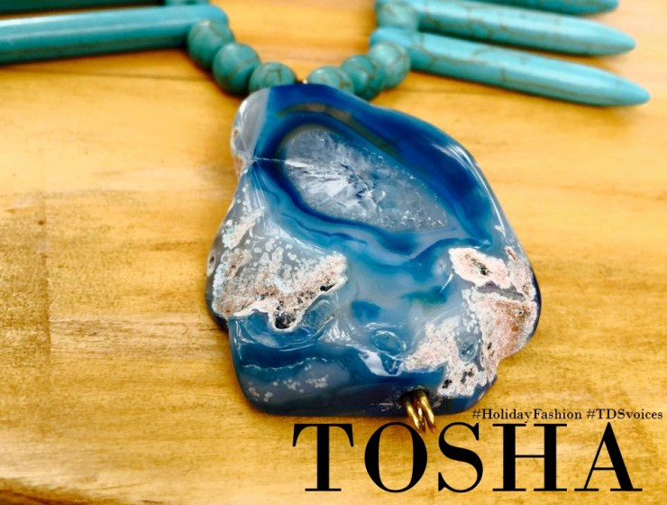 TOSHA, handmade with class #HolidayFashion #TDSvoices