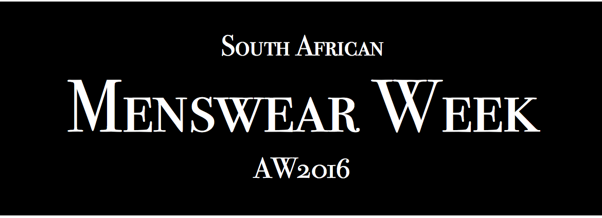 South African Menswear Fashion Week AW 2016