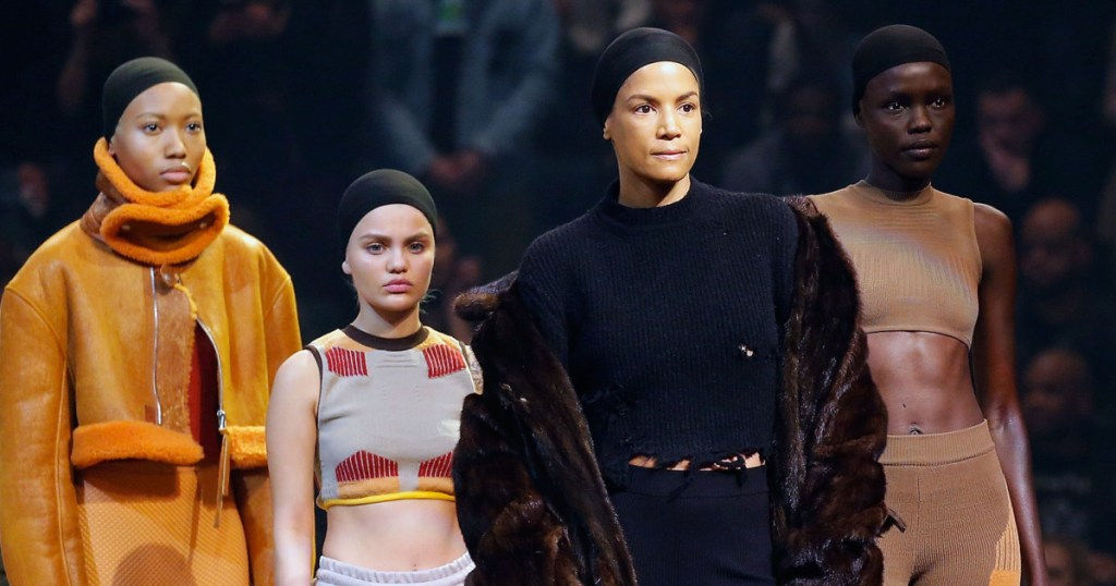 Veronica Webb does Yeezy Season. (Photo: JP Yim/Getty Images)