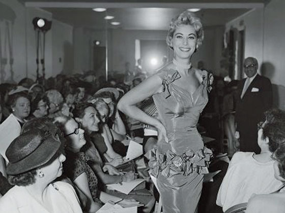 Catwalk at Press Week 1964