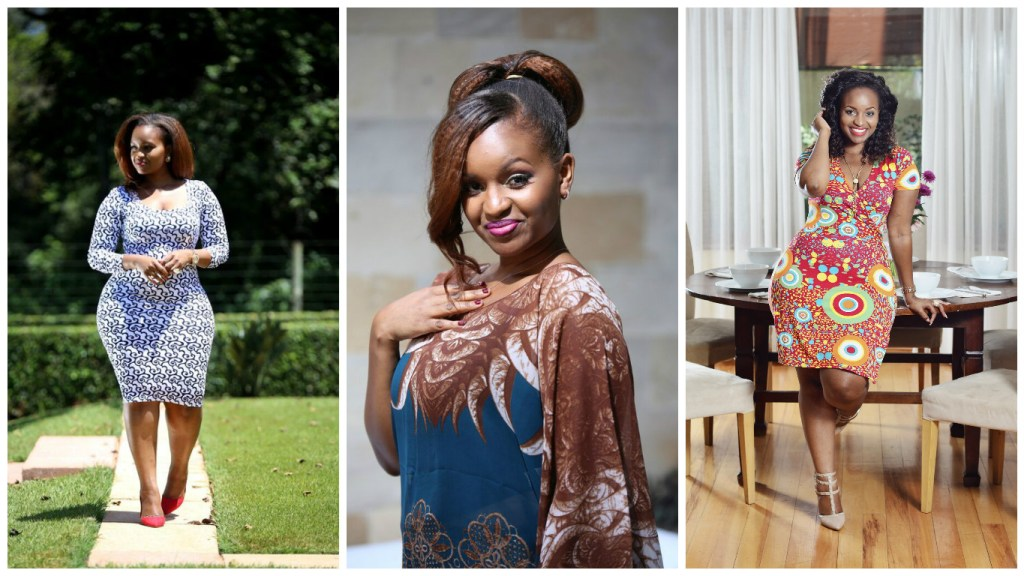Grace Msalame in embracing print from VIVO (Photo: Courtesy of Grace Msalame / Deepak)
