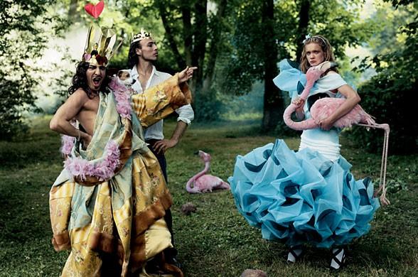 'Alice in Wonderland' [Image: Grace Coddington / Vogue]
