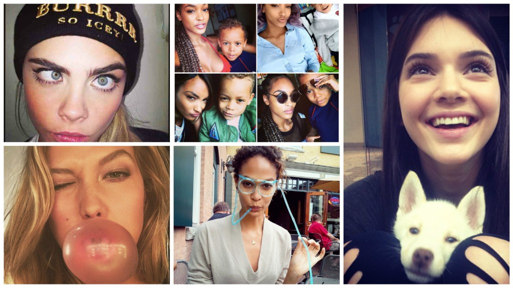 Models just want to have fun [ Images: Instagram]