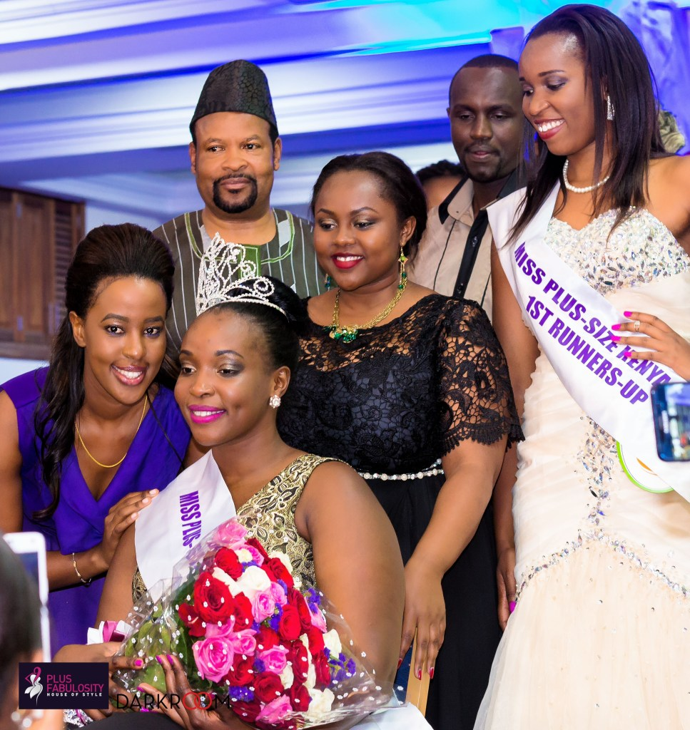 Faithjully Malala on her crowning at the premiere pageant event, MPSK 2015 [Image: courtesy of Plus Fabulosity]