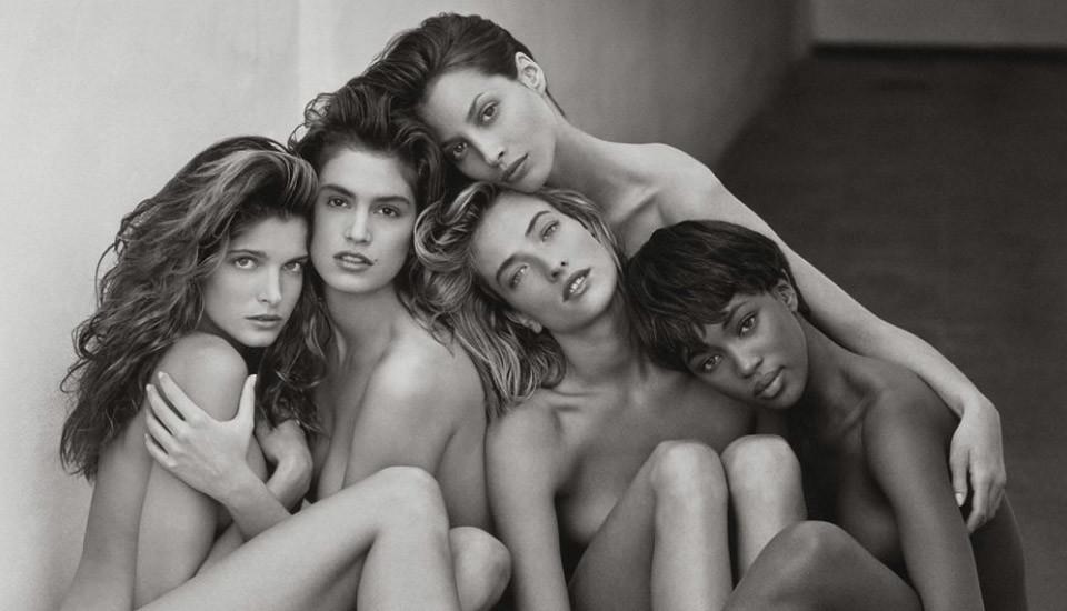 The Original Supermodels [Image: Peter Lindbergh/Vogue]