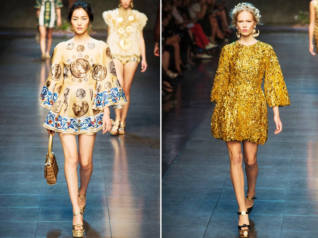 Milano Moda Donna [Image: Courteys of Dolce and Gabbana]