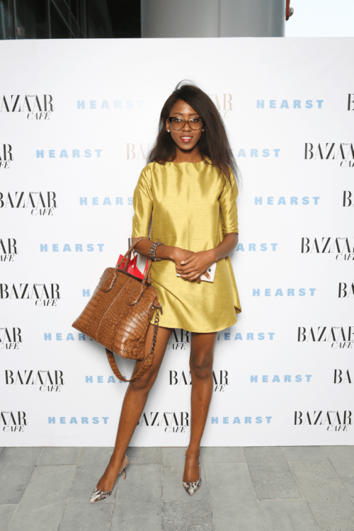 New Collection Sneak Peak: LOOK C [Photo Credit: Harper's Bazaar Cafe Launch]