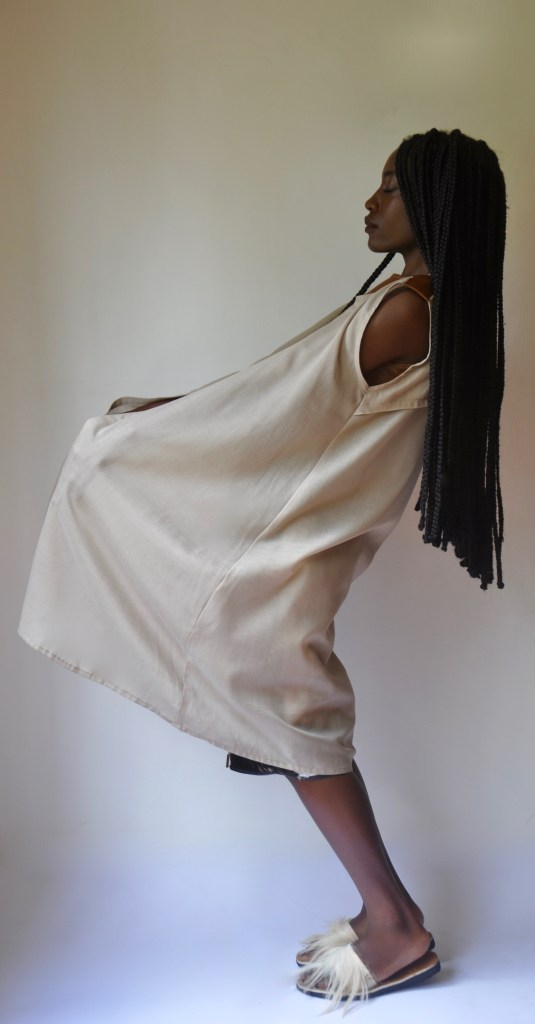 Voiile Sleeveless Shell [Image: Courtesy of M+K Nairobi]