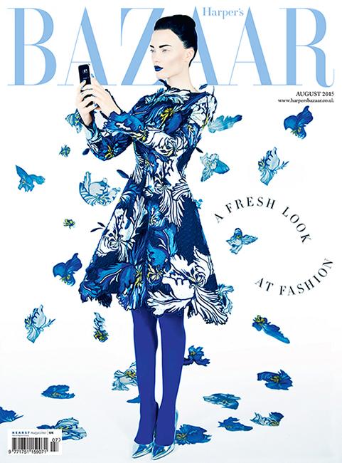 Harper's Bazaar Samsung Aug15 [Image: courtesy of Samsung C&T]