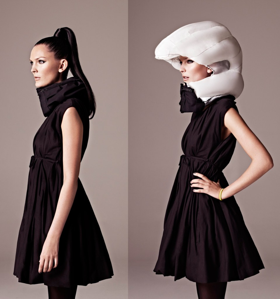 Hovding Invisible Helmet [Image: solidsmack.com]
