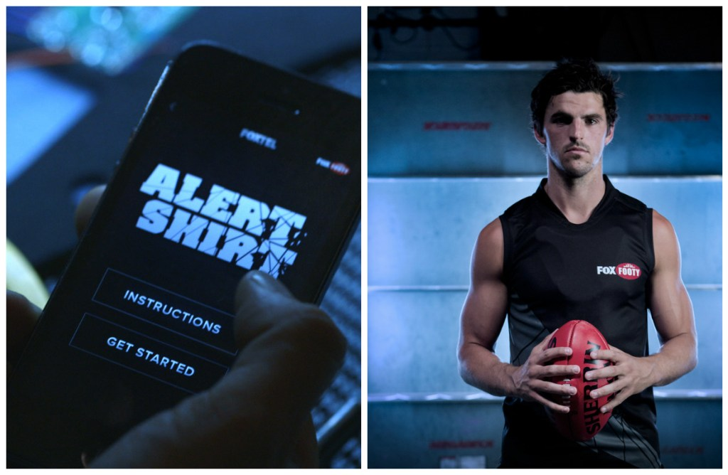 Alert Shirt [Image: Courtesy of We:eX]