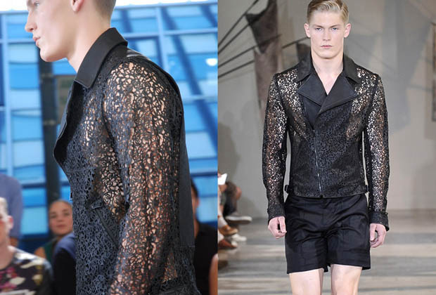Jacket show stopper [Image: Courtesy of Cut Laser Cut]