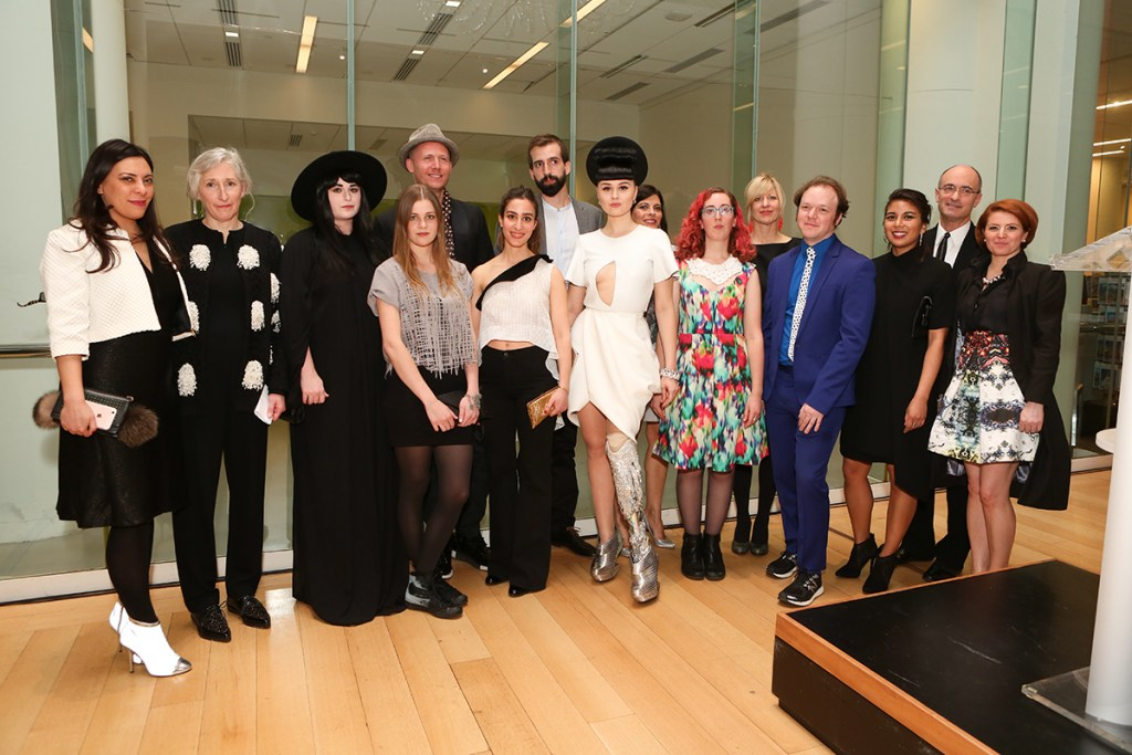 Techstyle designers, curators and Director Matthew Teitelbaum [Image: Courtesy of Boston Magazine]