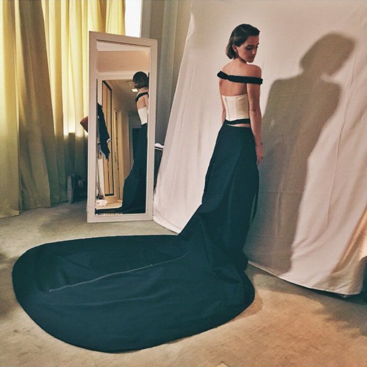 Emma Watson [Image: Met Gala / Trendhunter]